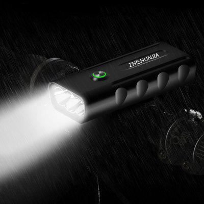 ZHISHUNJIA BX3 2400lm 3-Mode LED Flashlight USB Rechargeable Bicycle Lamp