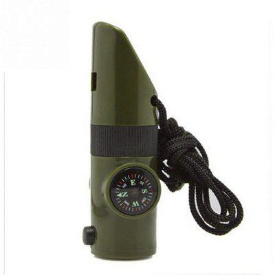 7 in 1 Outdoor Multifunctional Survival Whistle