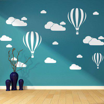 Creative Balloon White Cloud Wall Sticker Camera Copiilor Background Wall Dec