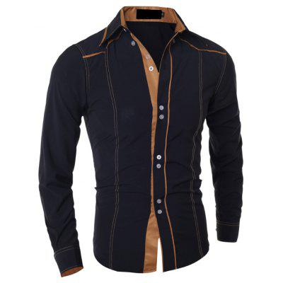 Herrenmode Casual Casual Features Langärmliges Hemd