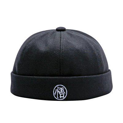 Male and Female Hip Hop Children's Personality Curling Parent-child Cap
