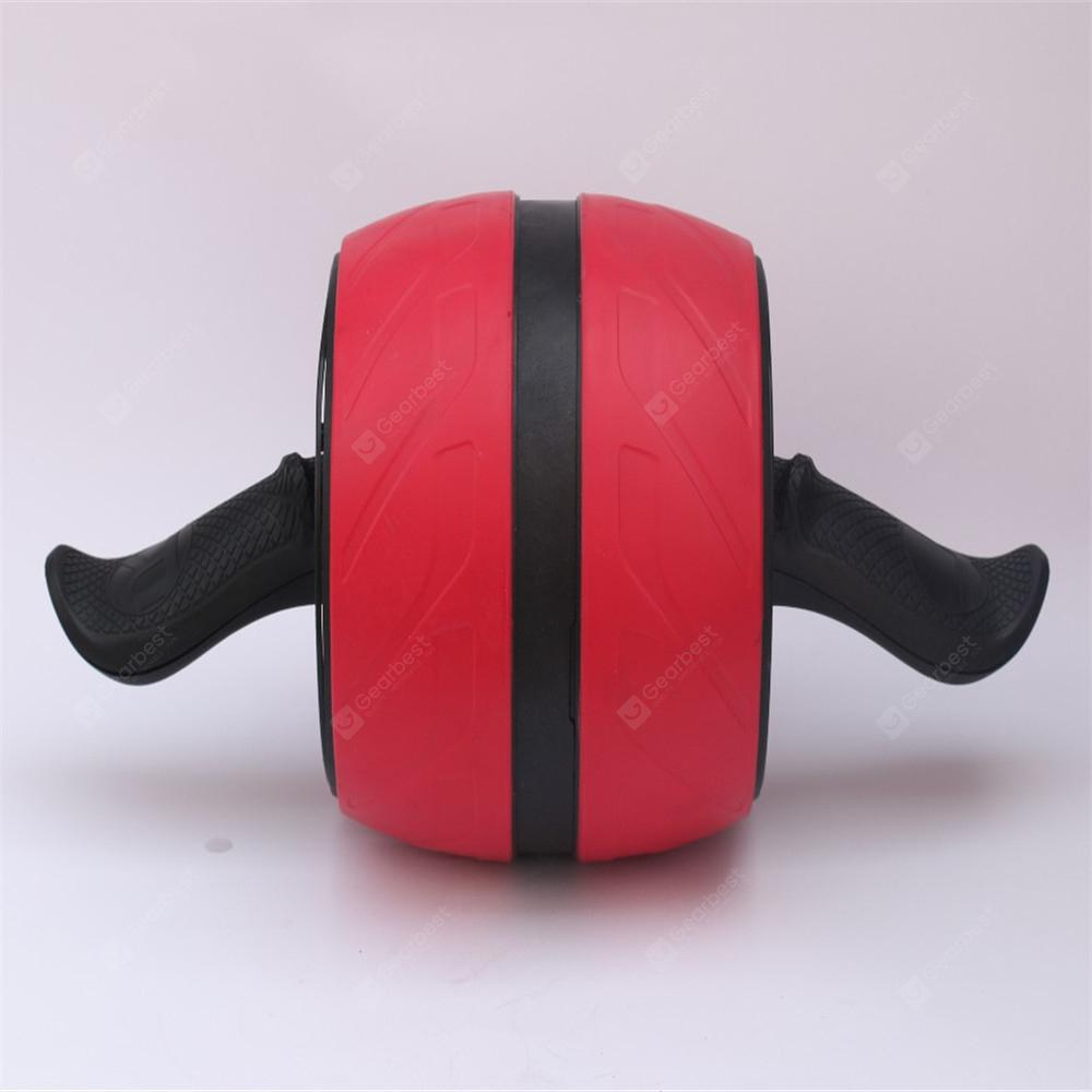 Abdominal Muscle Training Automatic Rebound Mute Wheel Organ-HUMMINGBIRD - RED