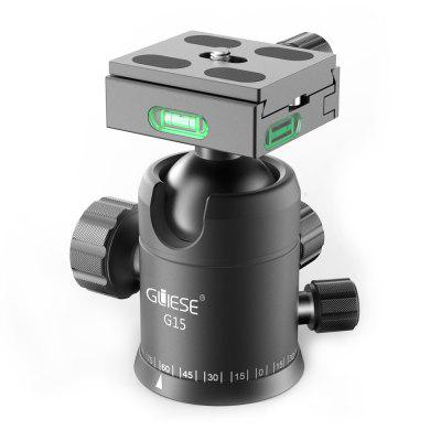 Gliese Heavy Duty Camera Tripod Ball Heads mount With 1/4 Arca Quick Shoe Plate