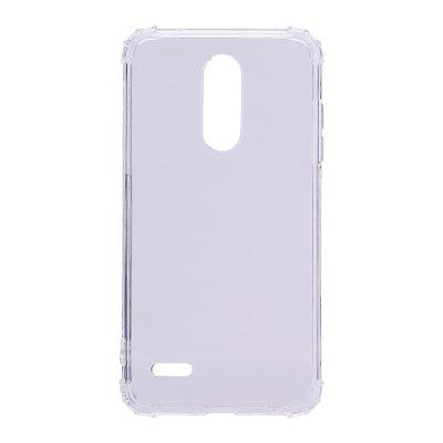 Ultra-Slim Shockproof Transparent Back Cover Case for LG K11