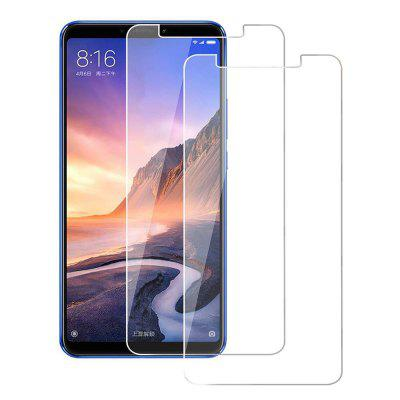 2PCS 0.26mm Edge Tempered Glass Screen Protector for Xiaomi Mi Max 3
