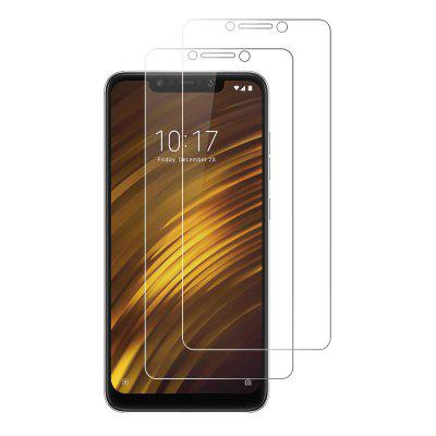 2PCS 9H 0.26mm Edge Tempered Glass Screen Protector for Xiaomi Pocophone F1