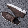 New Style Mens Casual Fashion Trendboard Shoes - DEEP BROWN
