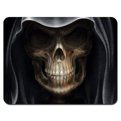 Non Slip Rubber Gaming Black Magic Skeleton Mousepad