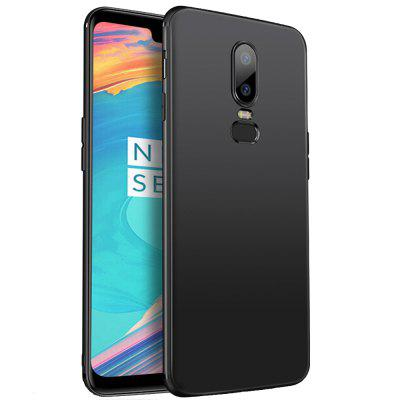 TPU Soft Rubber Matte Phone Case for OnePlus 6