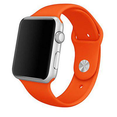 Silica Gel Band For Apple Watch Band Series 4 3 2 1