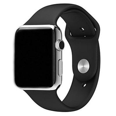 Bande de gel de silice pour Apple Watch Band Series 4 3 2 1