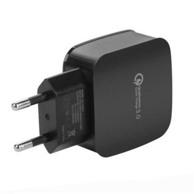 Caricabatteria da muro caricabatterie USB Quick Charge 3.0 Mini Travel Power per iPhone / Samsung