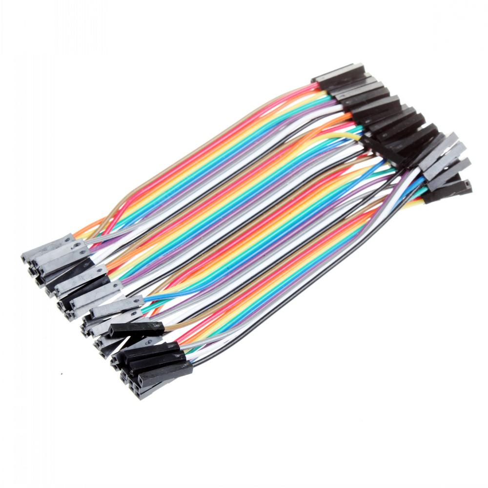40pin Fashion Cable Solderless Breadboard Wires Dupont Jumper Male To Female