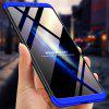 3 in 1 360 Degree Full Body Hard PC Back Cover Case for Huawei Honor Note 10 - MULTI-D