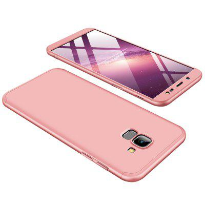 3-in-1 360 graden full body hard pc-cover voor Samsung Galaxy J6 (2018) achterkant