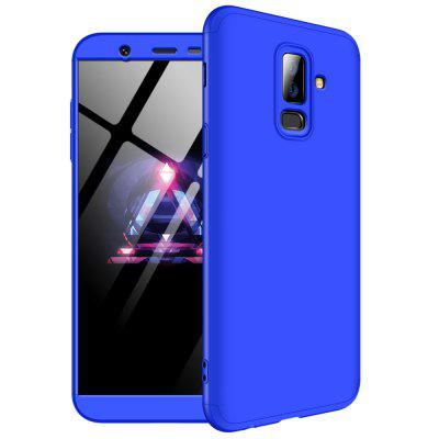 3 in 1 360 Degree Full Body Hard PC Back Cover Case for Samsung Galaxy J8 2018
