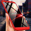3 in 1 360 Degree Full Body Hard PC Back Cover Case for Samsung Galaxy J8 2018 - RED