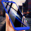 3 in 1 360 Degree Full Body Hard PC Back Cover Case for Samsung Galaxy J8 2018 - BLUE