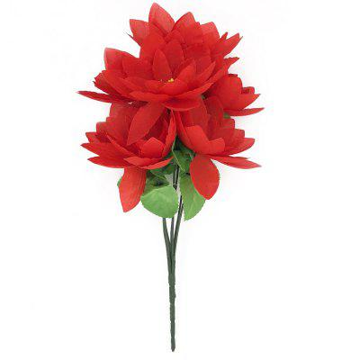 Lotus Home Decoration Branch of Artificial Flowers