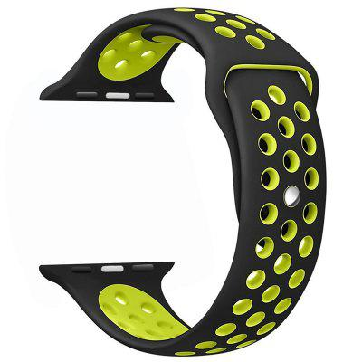 Soft Silicone Sport Band for Apple Watch Series 4/3/2/1 44MM 42MM Size Long