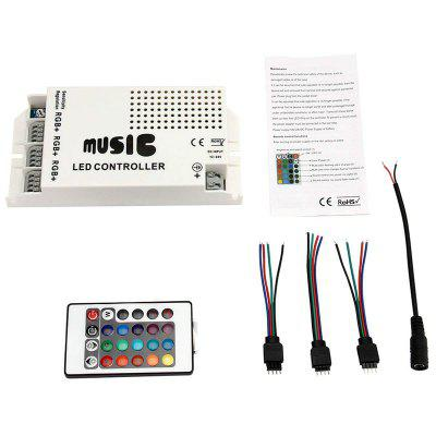 Music Sound Control IR Remote Control LED RGB 12-24V 24 Keys led Controller
