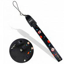 CoohoUSB Charging Cable Charger Android Cute Mobile Phone Lanyard Wristband