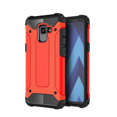 2 in 1 Hibrid Heavy Duty Armor Hard Cover Back Cover pentru Samsung Galaxy A5 2018