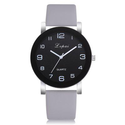 Neutral Contracted Pu with Quartz Wrist Watch