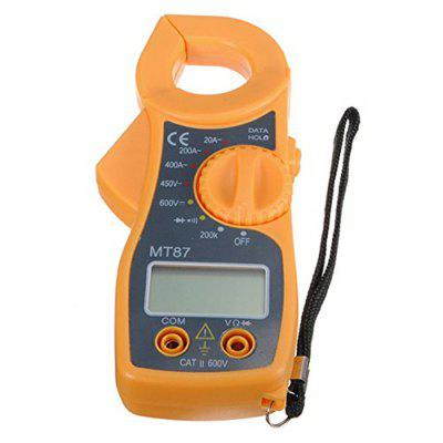 MT87 Digital Clamping Type Multimeter Electronic Tester AC/DC Meter