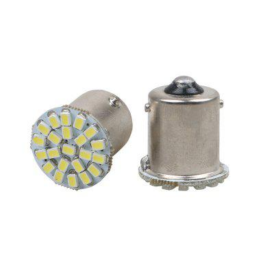 1156 P21W BA15S R10W R5W G18 22 SMD 1206 LED Lampe de stationnement de voiture Ampoule de queue automatique 12V