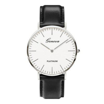 New Fashion Men Harajuku Scale Leisure Sport Quartz Watch