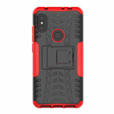 3D Relief Emboss Telefoon Cover Back Case voor Xiaomi Redmi Note 6 Pro