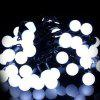 OMTO Small Ball LED String Light RGB intercambiabile 5M Holiday Christmas Lighting - BIANCO FREDDO