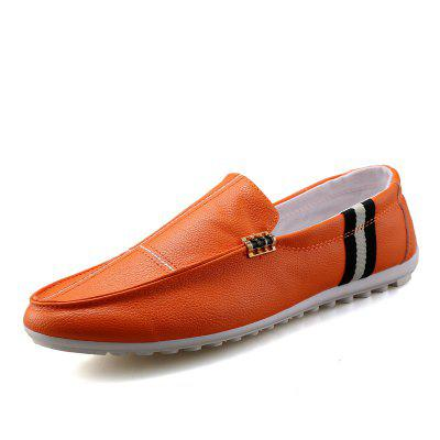 2018 New Spring and Autumn Loafer Trend Slip On Men Casual Shoes