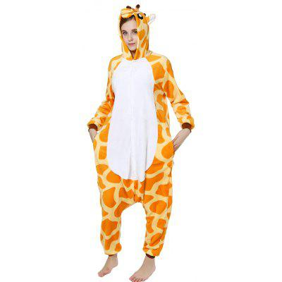 Adult Unisex Anime Cosplay Outfit Costume Giraffe Pajamas