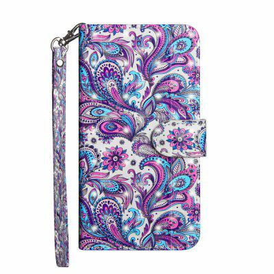 Fashion 3D Color Painting for Motorola Moto G5 Case Flip Leather Wallet Cover