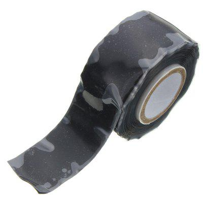 25mm Wide Black Self Fusing Silicone Tape Emergency Rescue Repair Tape