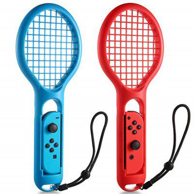 Para Nintendo Switch Joy-Con Controlador Twin Pack Tennis Racket Jogo Ténis Aces
