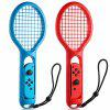 For Nintendo Switch Joy-Con Controller Twin Pack Tennis Racket Game Tennis Aces - MULTI