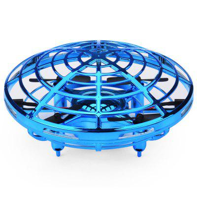 Mini UFO Drone for Kids with Led Light Flying  Helicopter Quadcopter Toy
