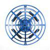 Mini UFO Drone para niños con Led Light Flying Helicopter Quadcopter Toy - AZUL