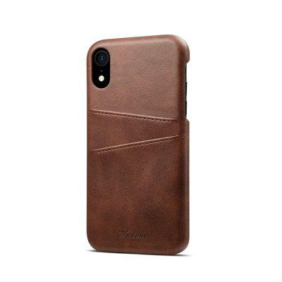 Leather Wallet Vintage Card ID Holder Slot Slim Case for iphone XR