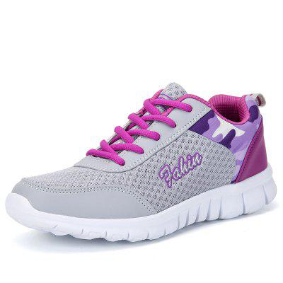 Women Casual Hollow Mesh Breathable Lightweight Sneakers