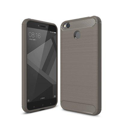 Arbon Fibre Anti-Fall Cell Phone Case for Xiaomi Redmi 4X