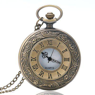 New Fashions  Men Harajuku Rome Pocket Watch