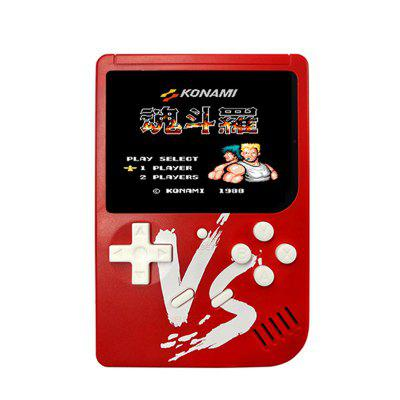 Built-In 500 Classic Retro Handheld Game Console Toy Support VS Doubles