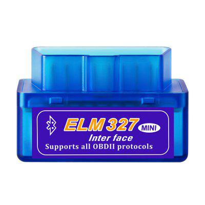 Super Mini ELM 327 Bluetooth OBD2 V2.1 Diagnostika detektora poruchy vozidla