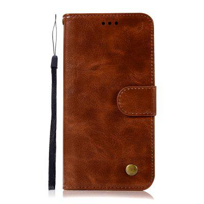 for Samsung Galaxy J6 2018 Phone Case (EU Version) PU Flip Wallet Leather Cover