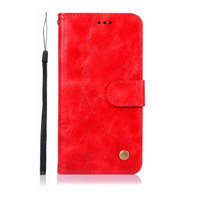 для Samsung Galaxy J3 Star / Amp Prime Phone Case PU Flip Wallet Leather Cover