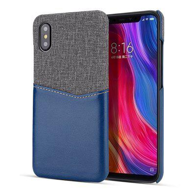 Q-For Xiaomi 8 Exploration Version of The Patchwork Card Phone Case